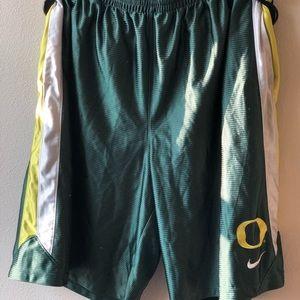 Oregon duck shorts